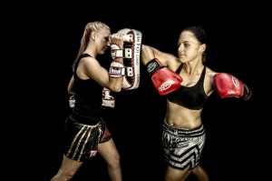 Muay Thai Kickboxing is an awesome way to get & have fun!