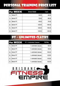 Personal Training Brisbane Fitness Empire Stafford