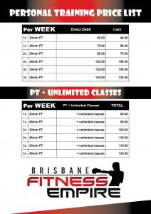 Personal Training Brisbane Fitness Empire Stafford